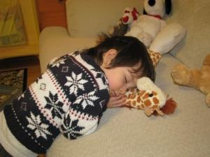 kind 7 slaap
