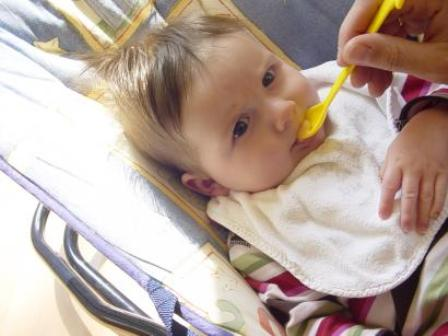 Zelf babyvoeding maken.