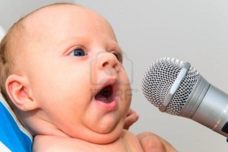 Zingen met je baby.
