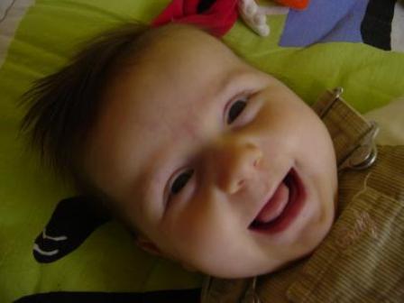 De glimlach van je baby.
