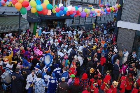 genieten van de carnaval