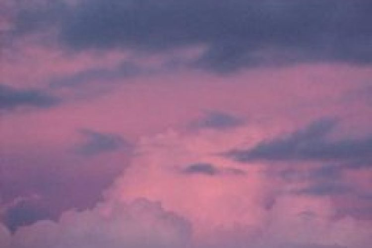 Vergeet die roze wolk maar!!