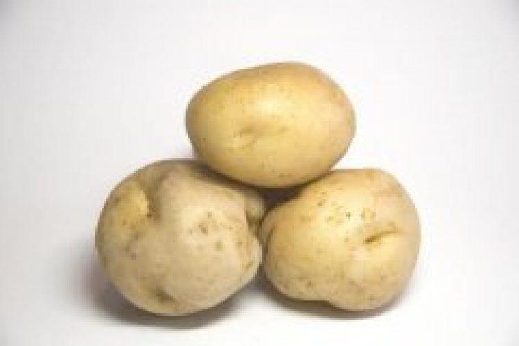 Babyhap 8 maanden: variaties met aardappel en ham.