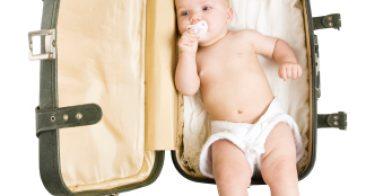 Onderweg-lijst voor je  baby.