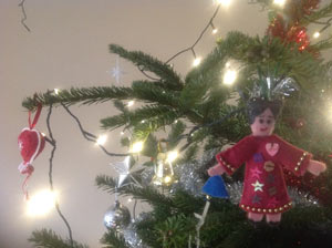 liedjes in de kerstboom