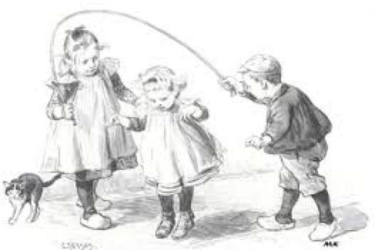 Peuter activiteiten Ouderwetse spelletjes