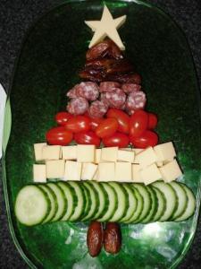 funfood kerstmis