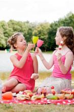 kinderen op vakantie gezond blijven