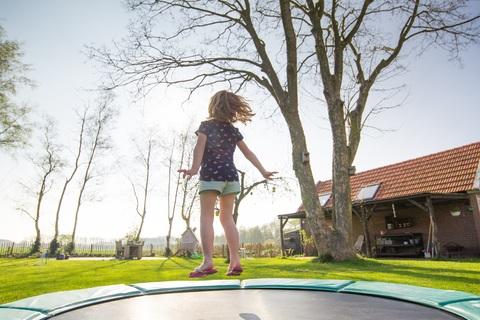 veilig trampoline springen