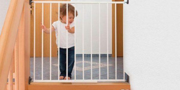 Een veilig huis met traphekjes