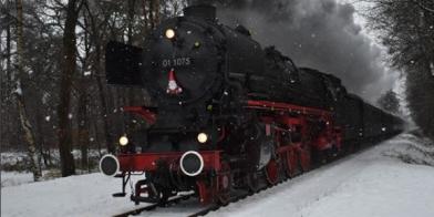 In de sneltrein van Sinterklaas naar Kerst