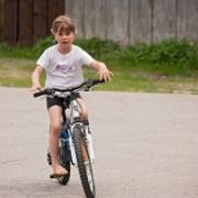 alleen fietsen