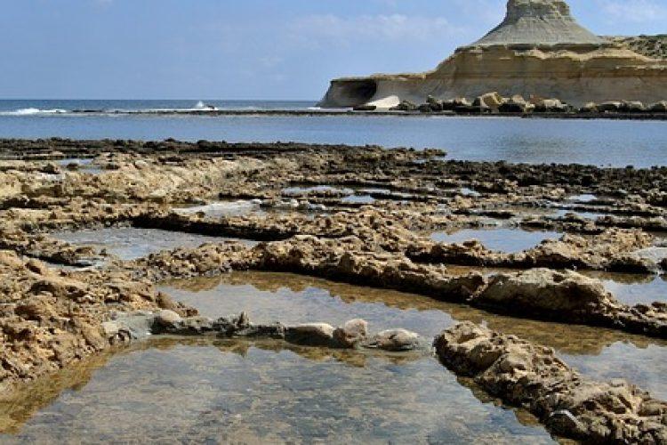 Je wil natuurlijk ook wat zien….de zoutpannen van Malta