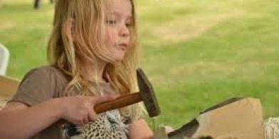 Kinderen en gereedschap