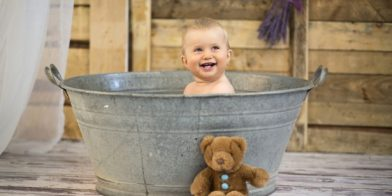 Dit moet je weten voordat je je baby in bad zet!