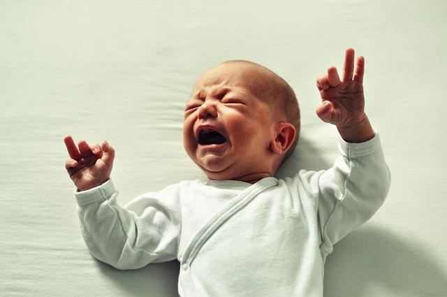 Wat als je baby kreunt