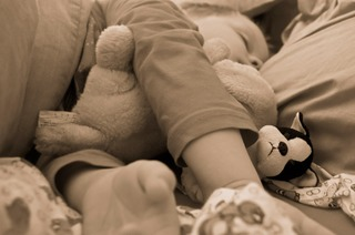Een kind in mijn bed… door Daisy