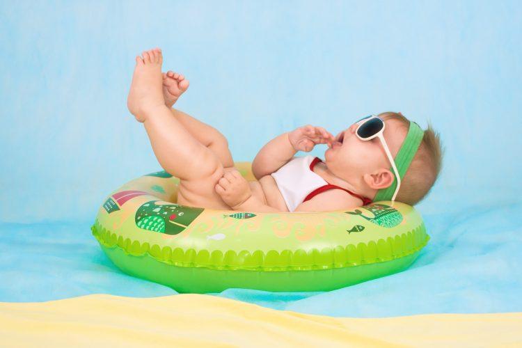 Relaxed op vakantie met jouw baby