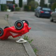 auto ongeluk op school