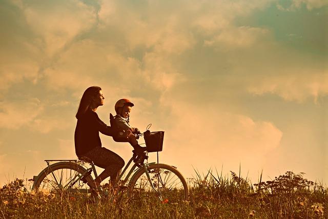 regen en wind: fietsen met dat kind