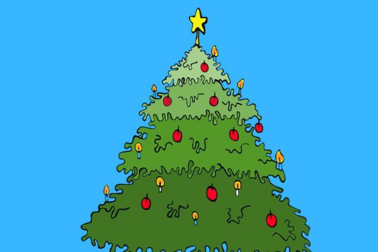 welke kleur krijgt de kerstboom