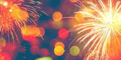 Kind en vuurwerk en ouders die het feestje verknallen