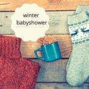 winter babyshower