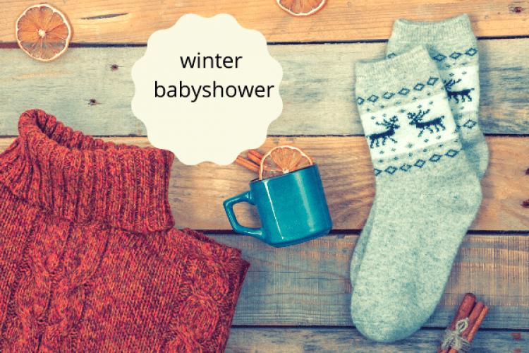 Babyshower in de winter