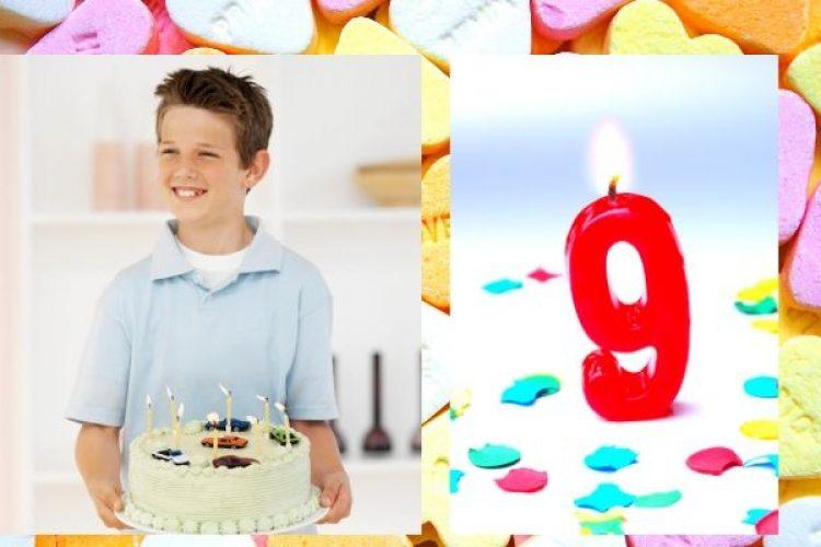 Een cadeau voor een jongen van negen