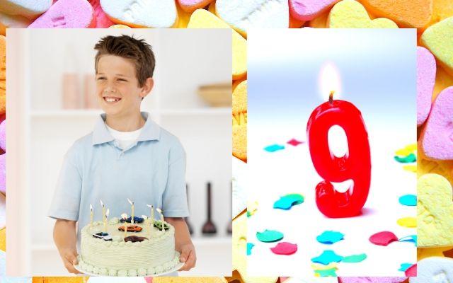 cadeau voor jongen van negen