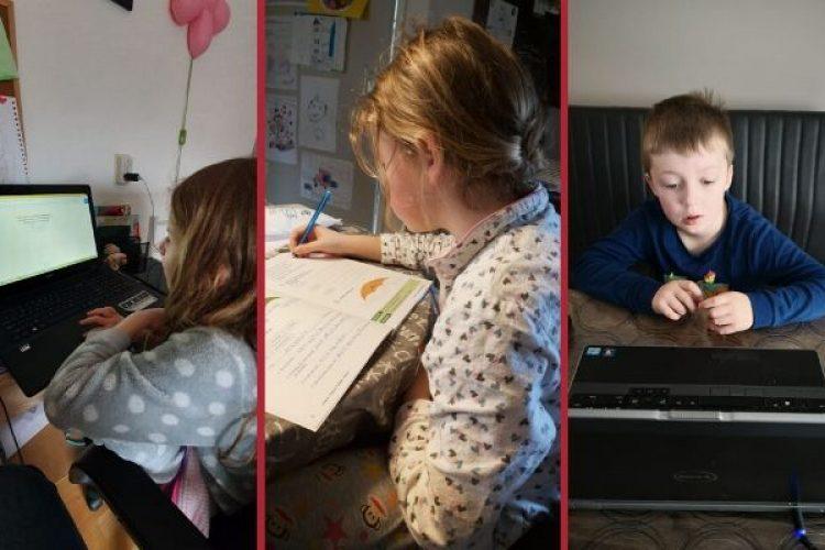 De kinderen thuis: setting goals