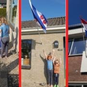 de kinderen thuis: koningsdag