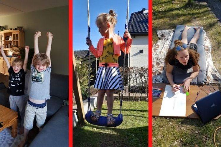 De kinderen thuis: grote en kleine tegenvallers