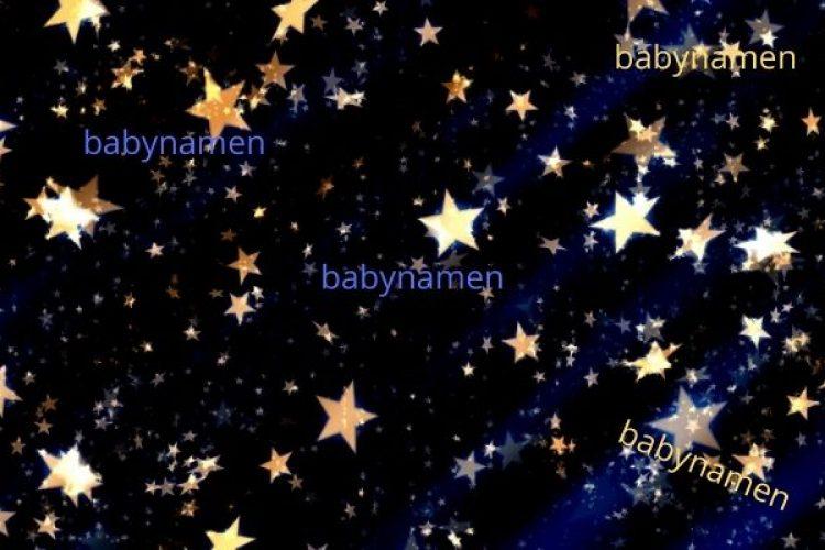 Vind je babynaam tussen de sterren