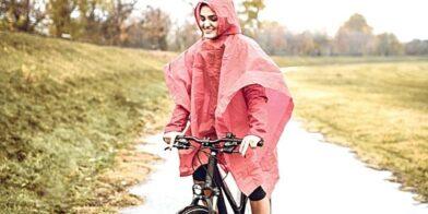 Door regen en wind: fietsen met dat kind