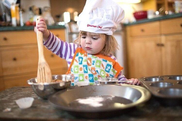 Koken met peuters